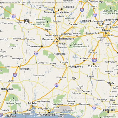 Alabama Eldercare Planning Council Members Medical Alert Health - Map of northern alabama
